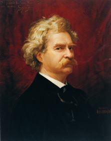 Mark Twain by Ignace Spiridon
